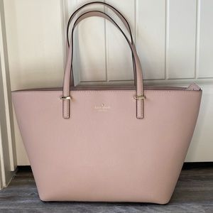 Kate Spade Nude Pink Tote Purse